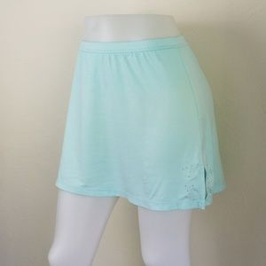 Crystal Seafoam Stretch Tennis Skirt